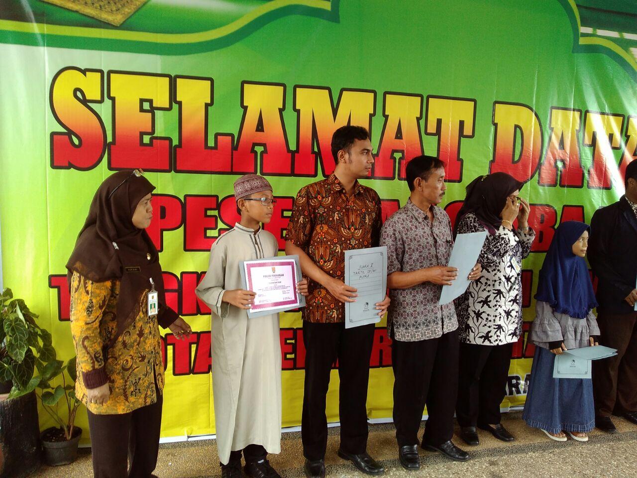 Juara Lomba MHQ se-Kecamatan Tembalang Semarang Maret 2018